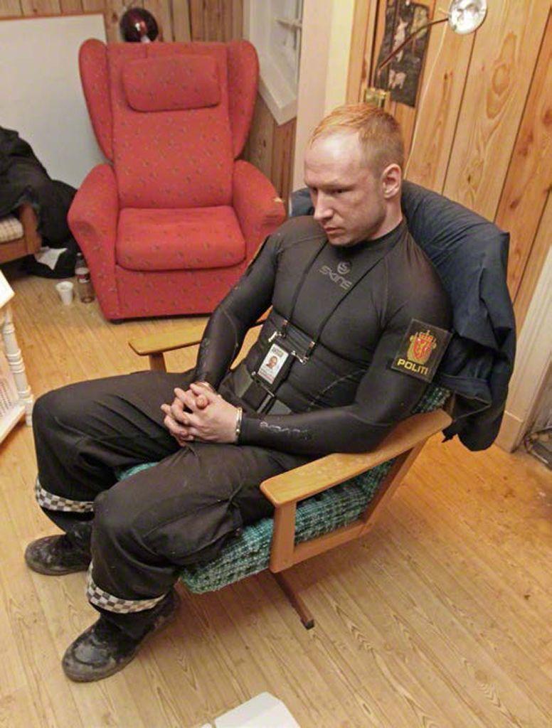 Breivik/ Festnahme