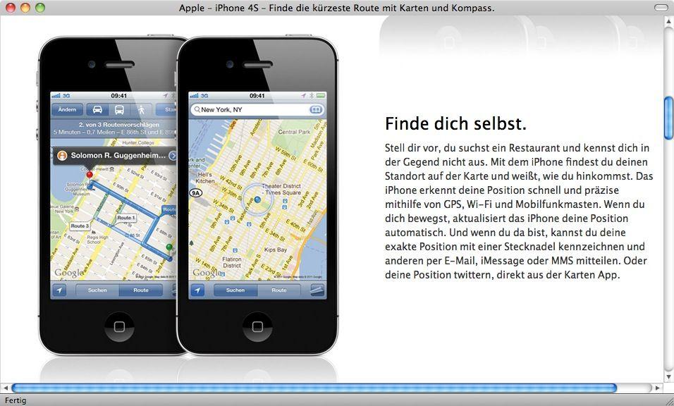 NUR ALS ZITAT Screenshot Apple iPhone 4S