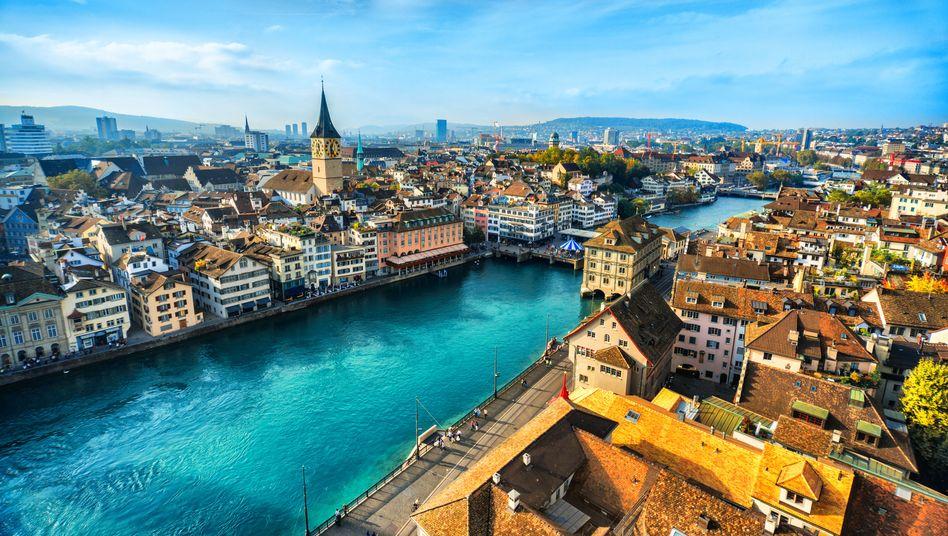Zürich: In der Schweiz sind die Vermögen besonders hoch