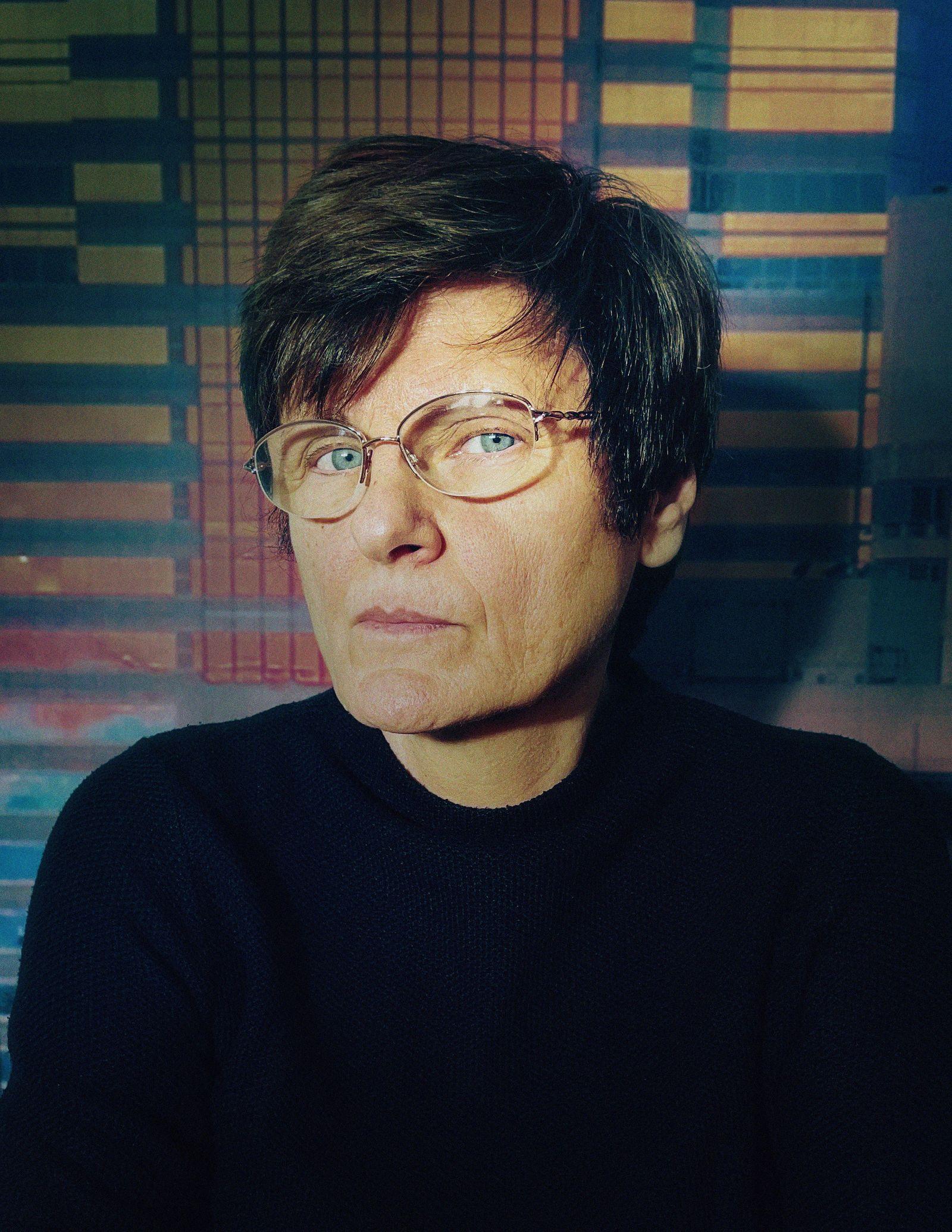 Katalin Kariko, Senior vice president, BioNTech, photographed remotely in her home outside Philadelphia, Jan. 2021.