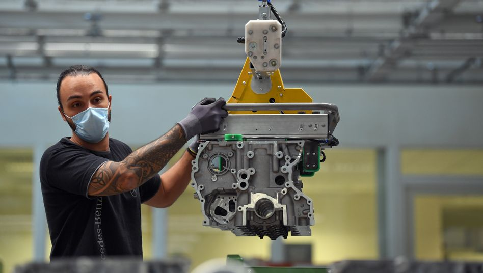 Daimler-Werk in Bad Cannstatt