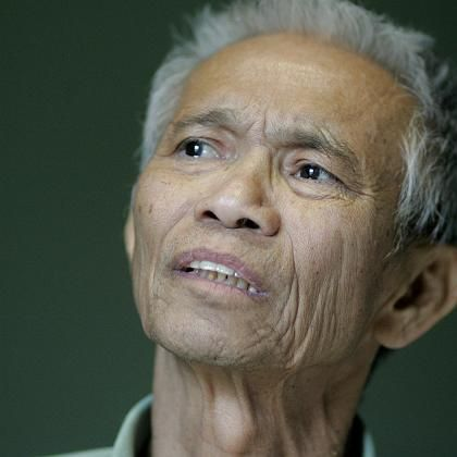 """Dith Pran zwei Wochen vor seinem Tod: Auf seinen schrecklichen Erfahrungen beruht der Film """"Killing Fields"""""""