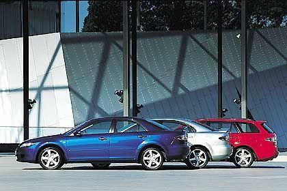 Mazda 6 in drei Varianten: Das Kleeblatt ist komplett