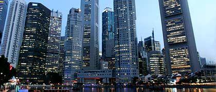 Finanzdistrikt in Singapur: Angst vor der Abwanderung von Talenten