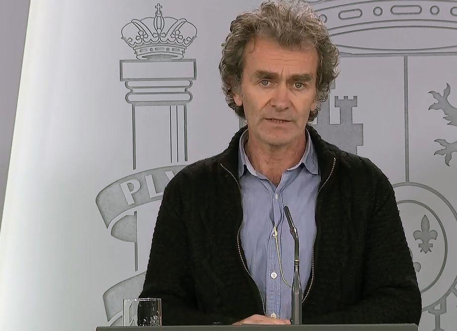 Verkündet immer wieder schlechte Nachrichten: Fernando Simón