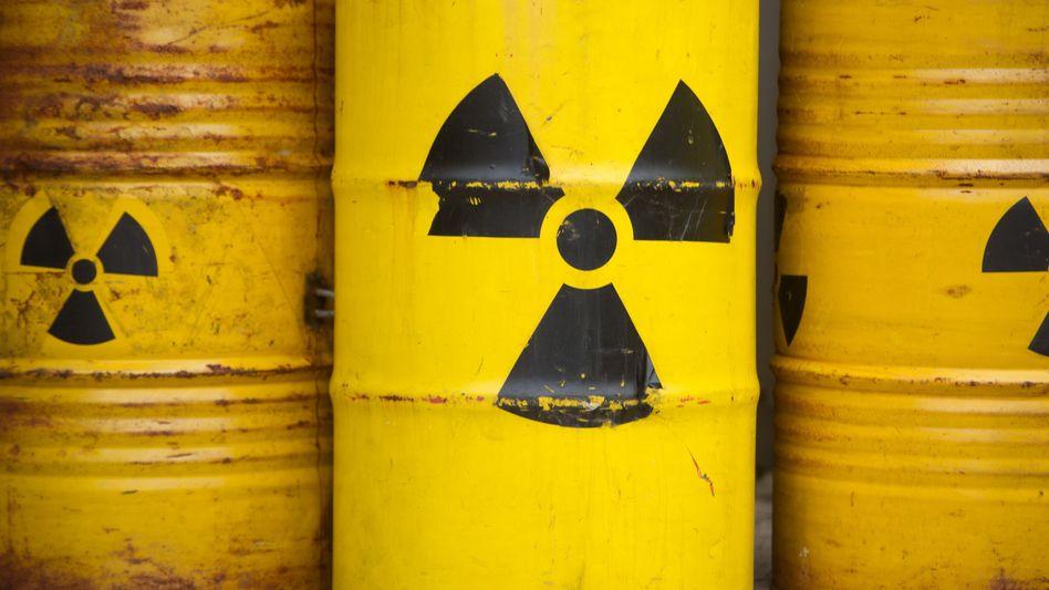Atommüllfässer (Symbolbild)