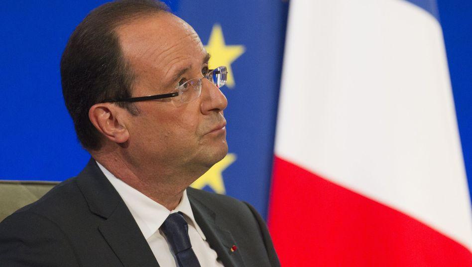 Frankreichs Präsident Hollande: Unerfreuliche Nachrichten vom Rechnungshof