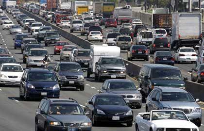 """Verkehrschaos auf der Interstate 5 bei Los Angeles: """"Das ist wohl der Preis unseres Erfolgs"""""""