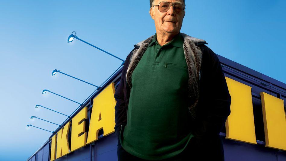 Ingvar Kamprad: Der Ikea-Gründer ist einer der reichsten Menschen der Welt
