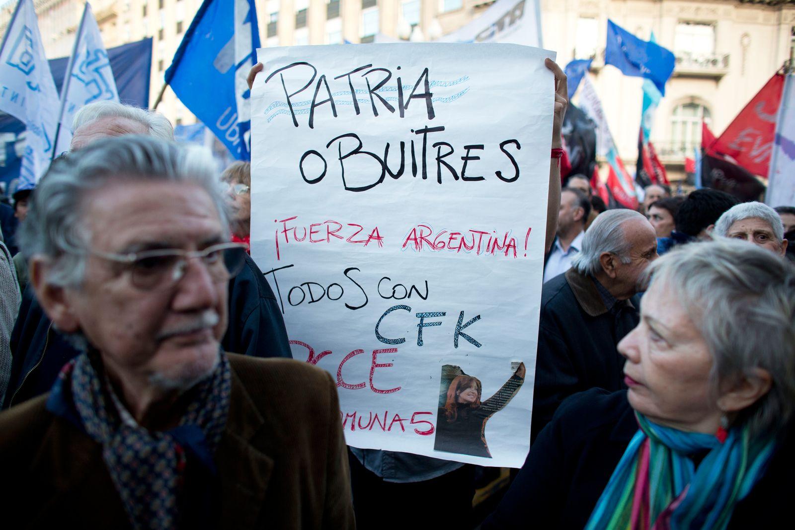 Argentinien / Zahlungsunfähigkeit