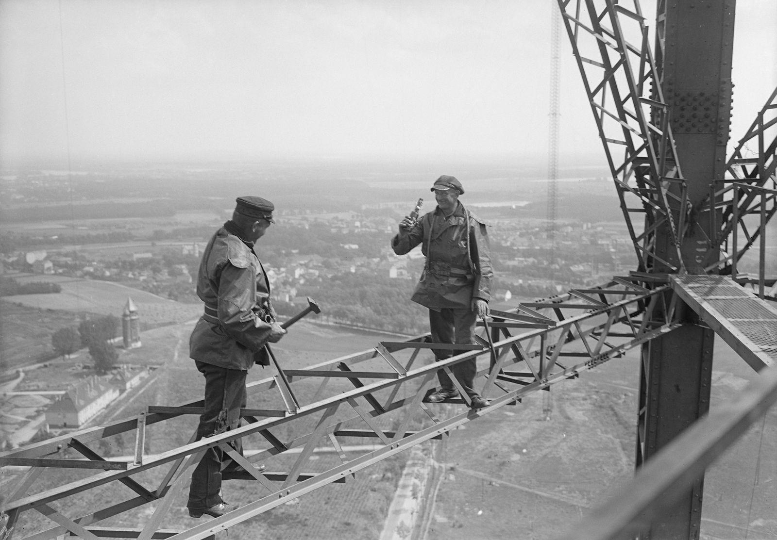 Rundfunk Berlin. Hauptfunkstelle der Reichspost in Königs Wusterhausen