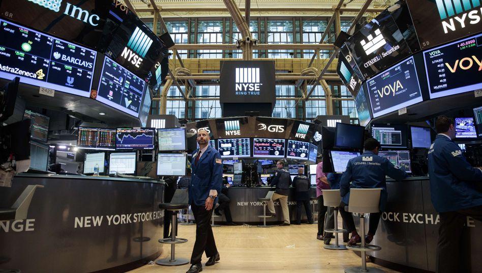 Handelsraum der Wall Street