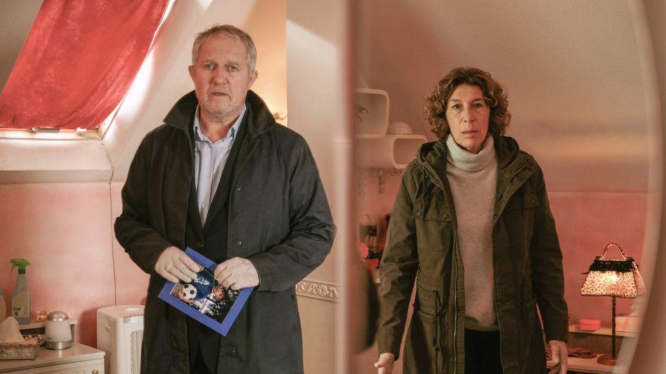 Eisner (Harald Krassnitzer) und Fellner (Adele Neuhauser) in der »Tatort«-Folge »Die Amme«: Zwischen Crack und Downern