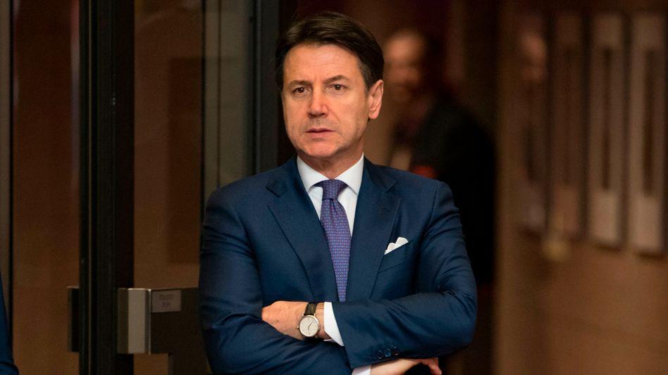 Giuseppe Conte (am 1. Juli in Brüssel): Nach seinem Rücktritt ist unklar, in welche Richtung sich Italien politisch weiterentwickelt