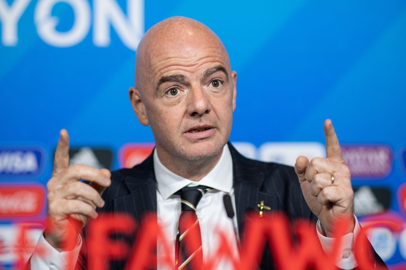Frauenfußball-WM - FIFA-Pressekonferenz