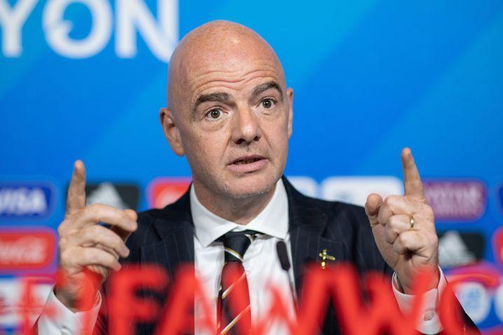 Gianni Infantino will Expansionen der Fifa-Wettbewerbe vorantreiben