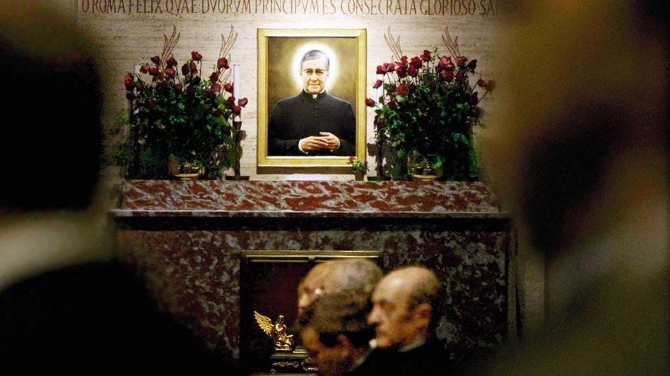 Bildnis des Opus-Dei-Gründers Josemaría Escrivá