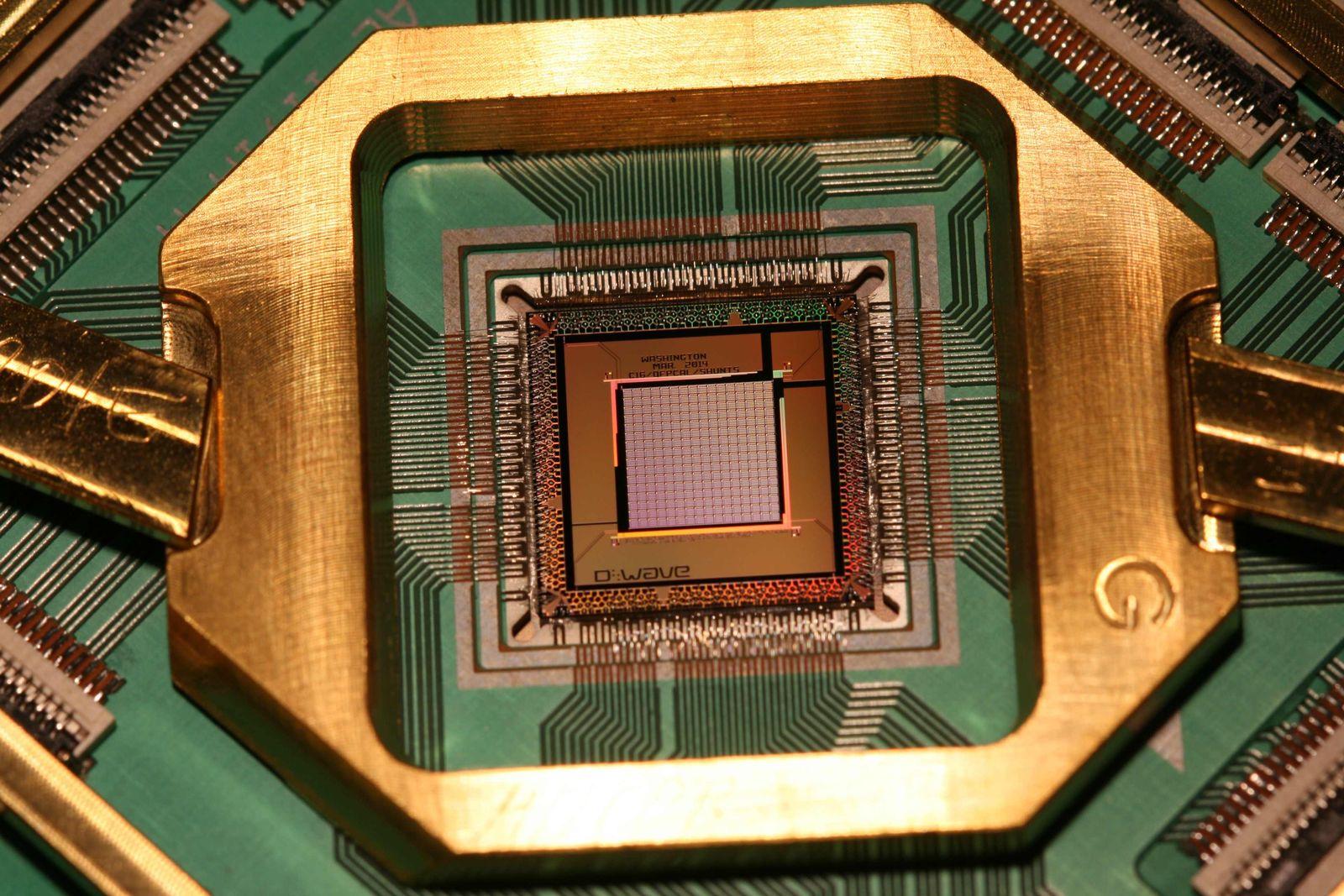 D-Wave-Quantencomputer