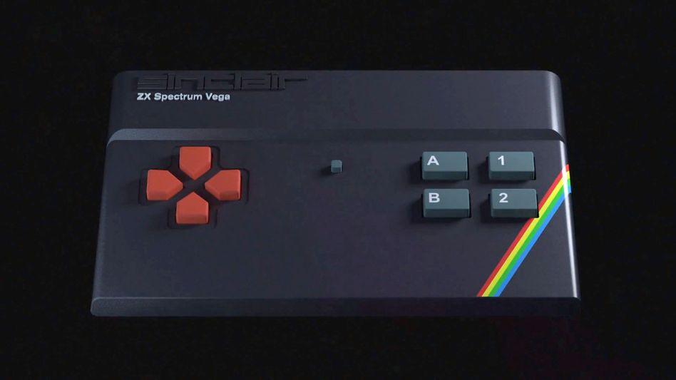 Sinclair ZX Spectrum Vega: Neuer Computer mit alten Spielen