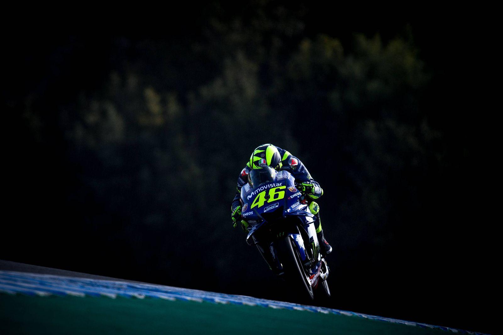 EINMALIGE VERWENDUNG Valentino Rossi/ 46/ Motorrad