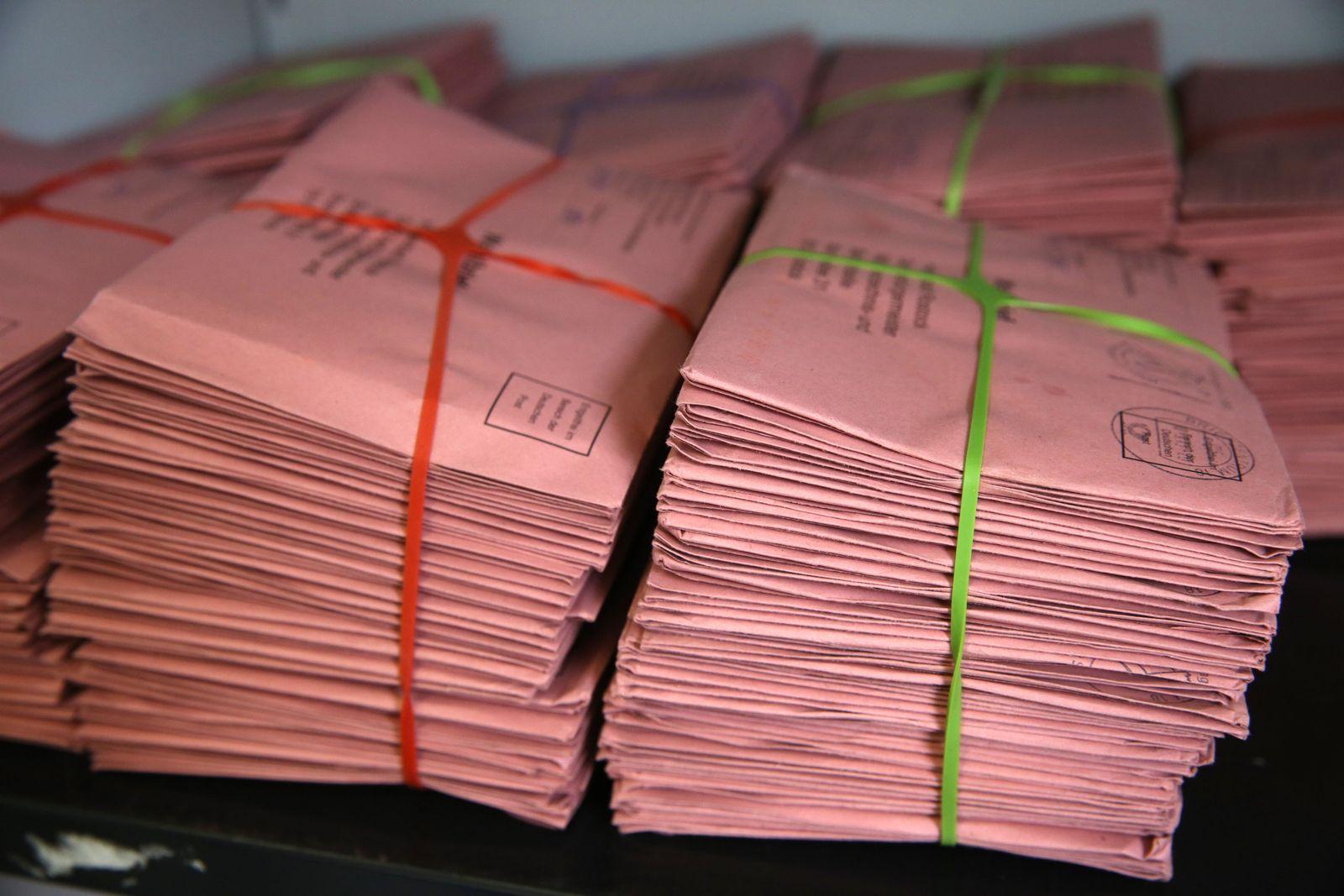 Briefwahl zur Bundestagswahl