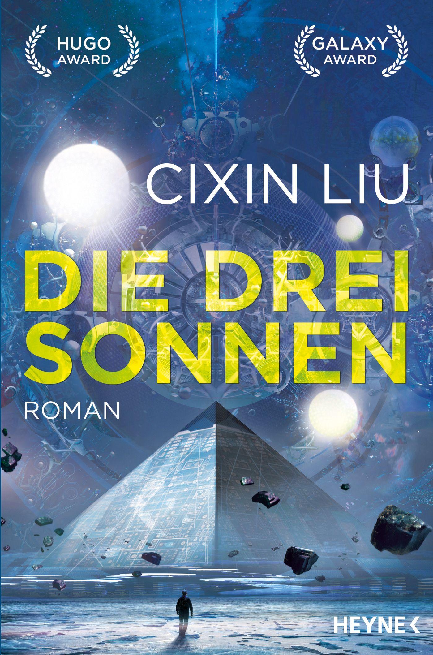 Buch/ Liu Cixin: Die drei Sonnen COVER
