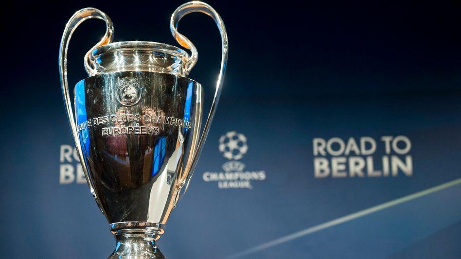Der Weg zum Champions-League-Pokal wird künftig ohne Auswärtstor-Rechenspiele auskommen