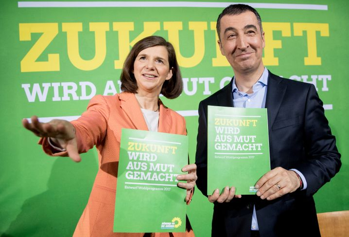 Grüne-Spitzenleute Göring-Eckardt und Özdemir
