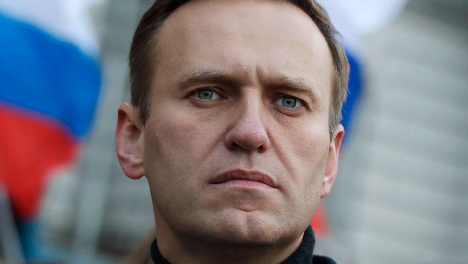 Alexej Nawalny (Archivbild): Gericht fordert offenbar Schadensersatzzahlung an Cateringfirma