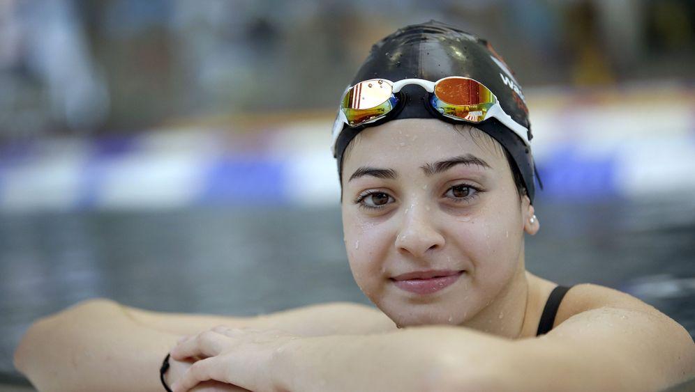 """Yusra Mardini: """"Am liebsten würde ich nur schwimmen"""""""