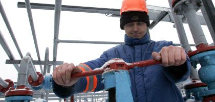 Pipeline-Arbeiter in Kiew: Leitungen gekappt
