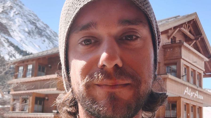 Saisonarbeiter Dustin Lehmann in Tirol