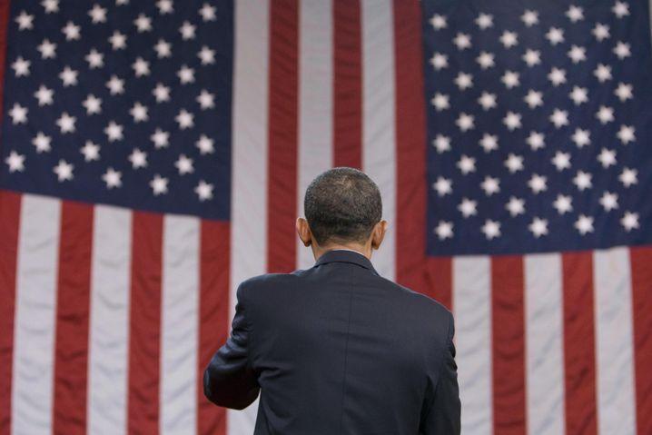 """Obama bei """"Townhall""""-Treffen zur Gesundheitsreform (in North Carolina Ende Juli): Visionen ersticken im Kleinklein"""