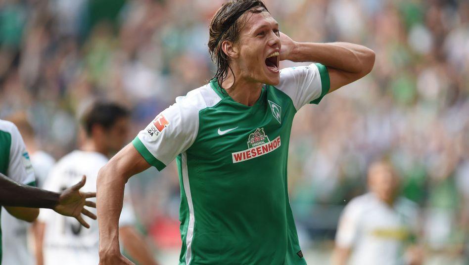 Jannik Vestergaard könnte in der Rückrunde wieder das grün-weiße Trikot tragen