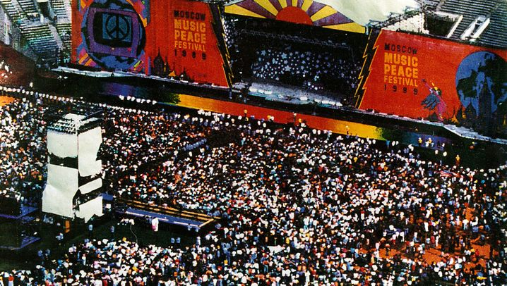 """Festival in Moskau 1989: """"Die Scorpions rockten wie die Hölle"""""""