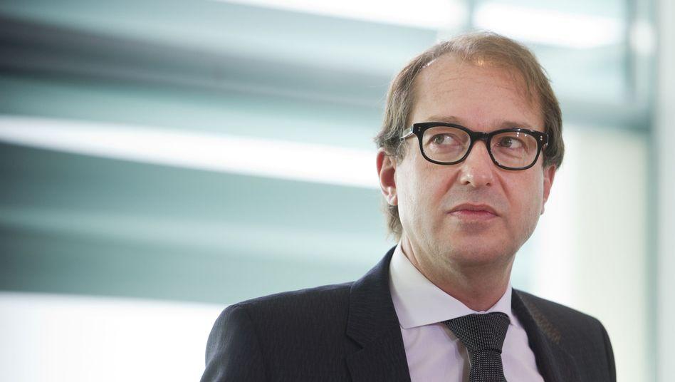 Alexander Dobrindt: Namen der Mitglieder verschwiegen