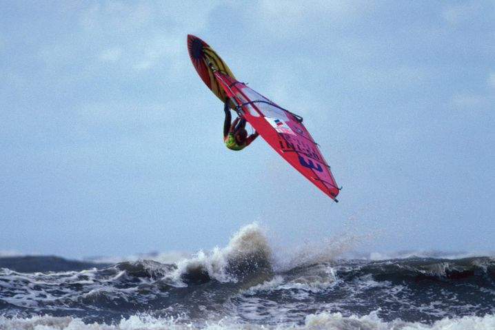 Weltmeister Robby Naish 1986