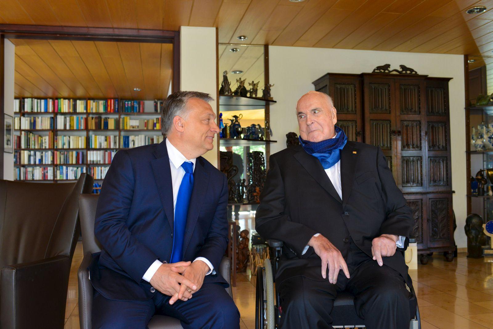 Viktor Orban / Helmut Kohl