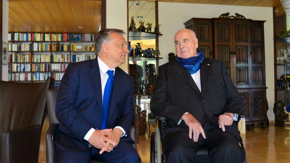 Orbán bei Kohl: Visite in Oggersheim