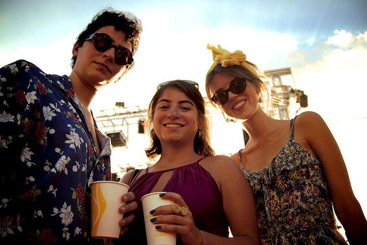 Livia Gerster (r.) mit Freunden in Beirut