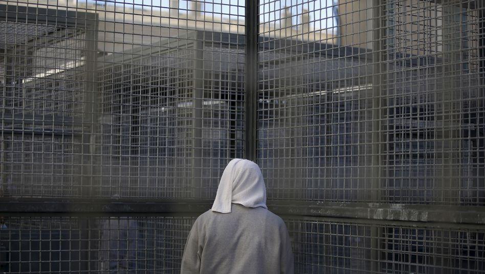 Todeskandidat im Gefängnis von San Quentin, USA