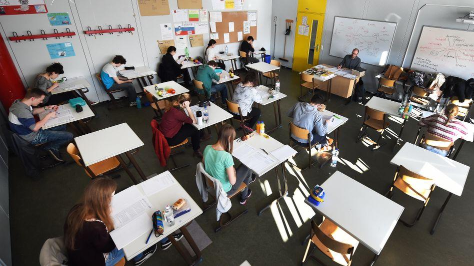 Abiprüfung in der Integrierten Gesamtschule Roderbruch in Hannover