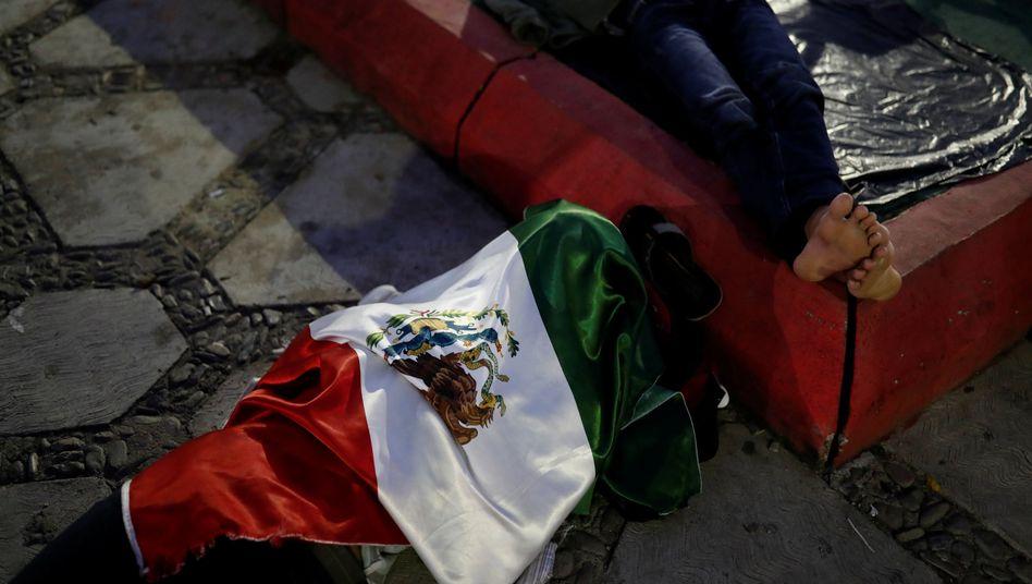 Migranten in Tapanatepec