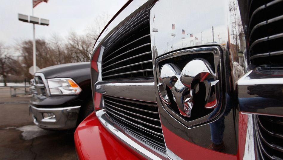 Dodge Ram: Von dem Rückruf sind auch Pick-ups der Chrysler-Tochter betroffen