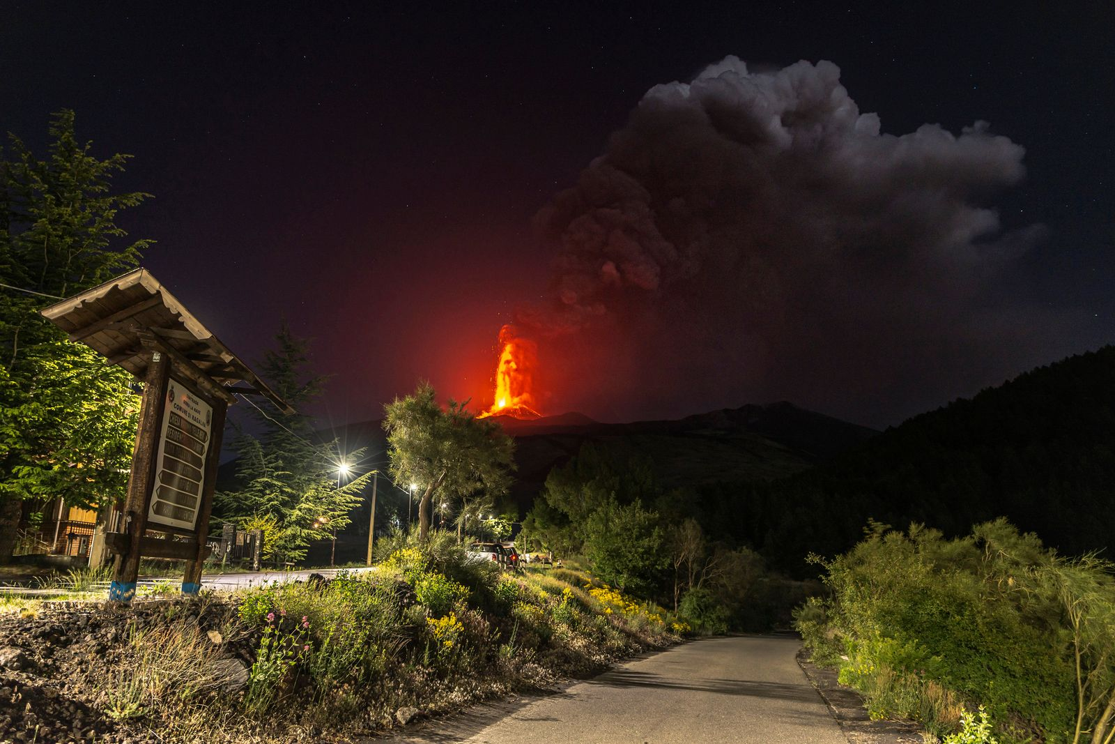 APTOPIX Italy Etna Volcano