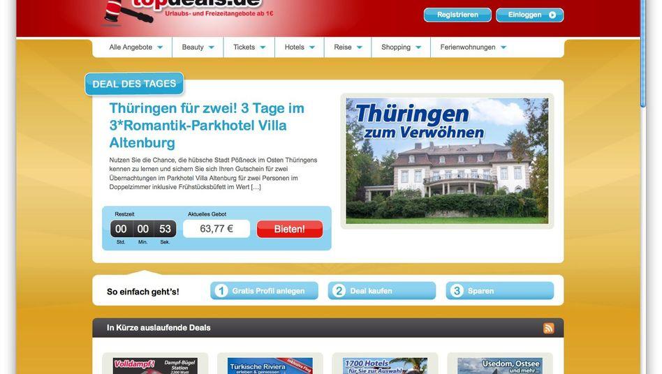 Auktionsportal Topdeals: Ein-Euro-Urlaub entpuppt sich als leeres Versprechen