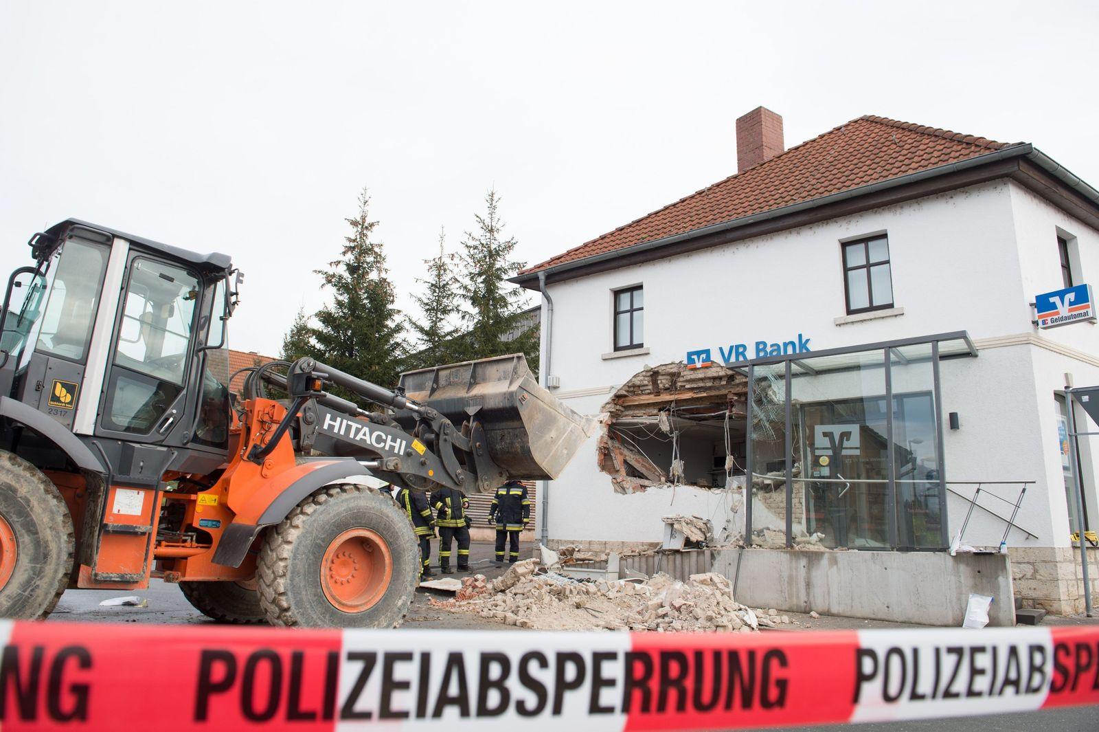 Raiffeisenbank/ Banküberfall