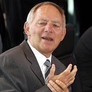 Wolfgang Schäuble bei der Kabinettssitzung: Lieber eine Koalition mit der FDP