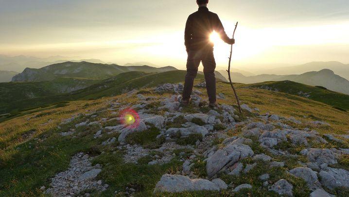 Neue Wanderroute: Vom Gletscher zum Wein