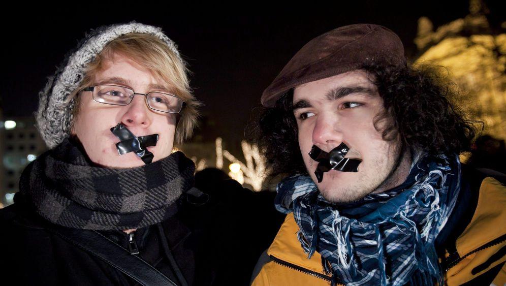 Proteste gegen Mediengesetz: Wie zu Kádárs Zeiten